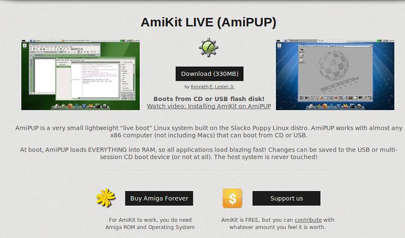 AMIGA] Amikit 7 en téléchargement gratuit