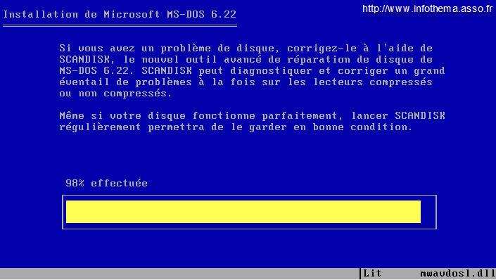 GRATUITEMENT 6.22 BOOTABLE TÉLÉCHARGER MS-DOS