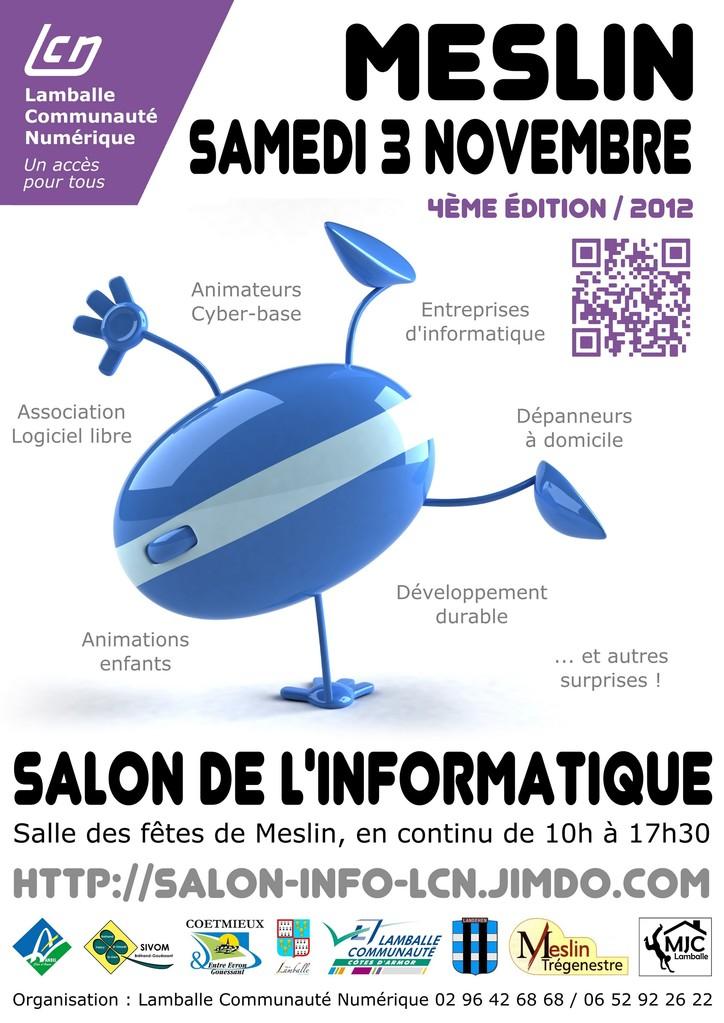 Lamballe communaut num rique participation salon informatique de meslin 2012 - Salon de l informatique paris ...